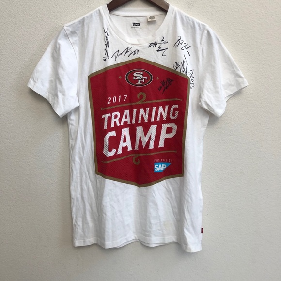 LEVIS SAN FRANCISCO 49ers Training camp Tshirt